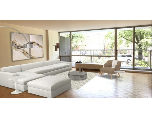 Picture 1 of 45 Longwood Ave Unit 207 Brookline Ma  1 Bedroom Condo#