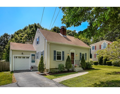 Picture 1 of 110 Spring St  Arlington Ma  3 Bedroom Single Family