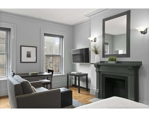 Picture 1 of 387 Marlborough St Unit 6 Boston Ma  0 Bedroom Condo#