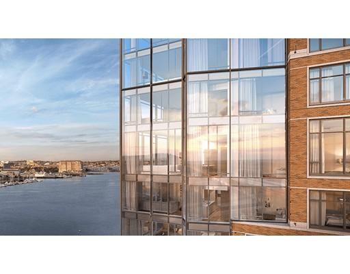 Picture 1 of 100 Lovejoy Wharf Unit 9e Boston Ma  1 Bedroom Condo#