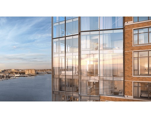 Picture 1 of 100 Lovejoy Wharf Unit 10f Boston Ma  2 Bedroom Condo#