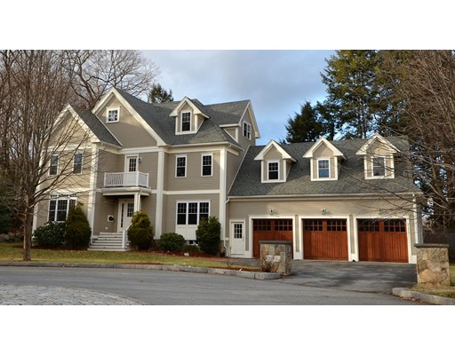 Picture 6 of 3 Stonefield Circle  Winchester Ma 4 Bedroom Single Family