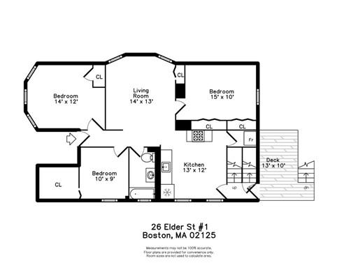 Picture 6 of 26 Elder St Unit 3 Boston Ma 3 Bedroom Condo