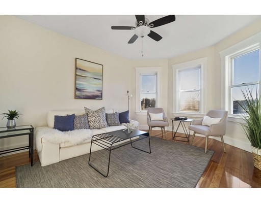 Picture 1 of 9 Rowell St Unit 1 Boston Ma  3 Bedroom Condo#