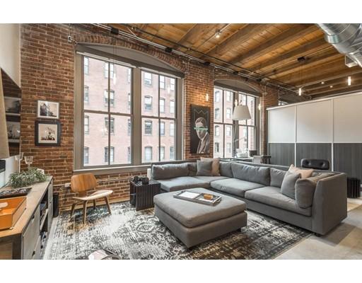 Picture 1 of 35 Channel Center Unit 211 Boston Ma  1 Bedroom Condo#