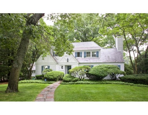 Picture 2 of 91 Old Colony Rd  Wellesley Ma 4 Bedroom Single Family