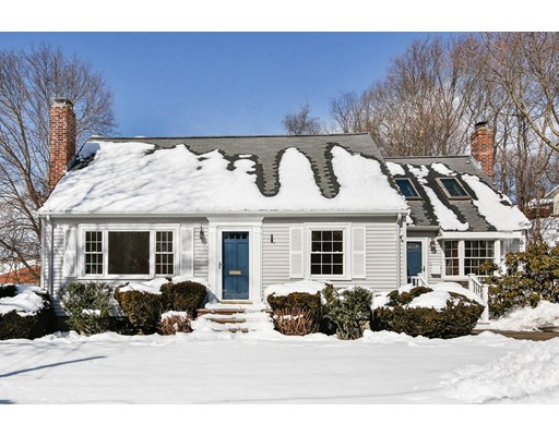 Picture 2 of 7 Roosevelt Rd  Lexington Ma 3 Bedroom Single Family