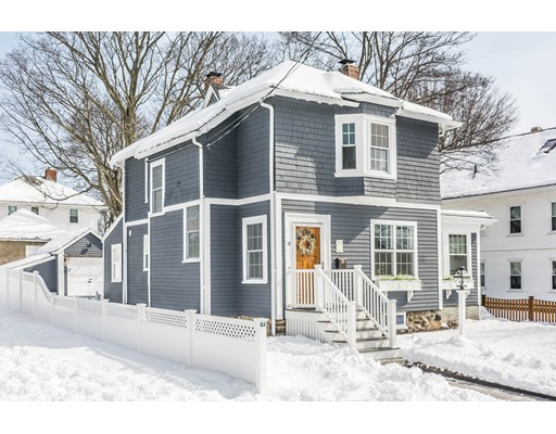Picture 1 of 9 Grand St  Reading Ma  3 Bedroom Single Family#