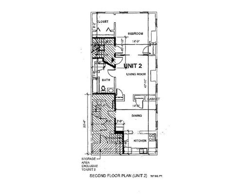 Picture 2 of 209 Bunker Hill St Unit 2 Boston Ma 1 Bedroom Condo