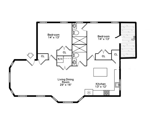 Picture 12 of 9 Greenwood Ave Unit 1 Boston Ma 2 Bedroom Condo