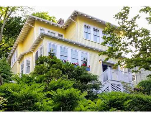 Picture 5 of 126 Winchester St  Brookline Ma 4 Bedroom Single Family
