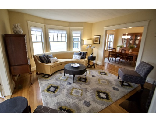 Picture 8 of 126 Winchester St  Brookline Ma 4 Bedroom Single Family
