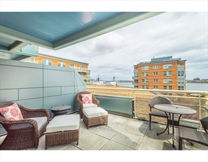 2 Battery Wharf 2302 is a similar property to 287 Hanover St  Boston Ma