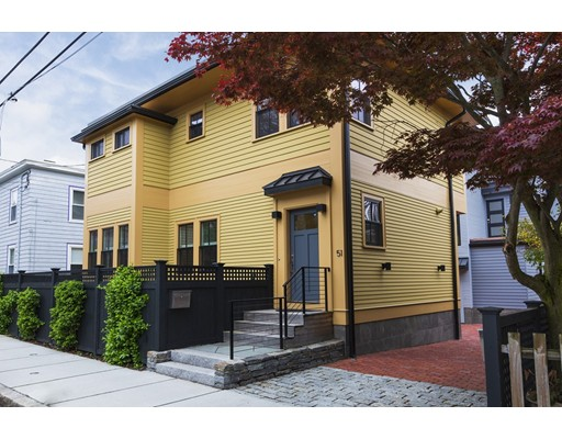 Picture 1 of 51 Jay St  Cambridge Ma  3 Bedroom Single Family#