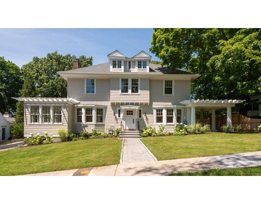 Picture 1 of 393 Clinton Rd  Brookline Ma  4 Bedroom Single Family#