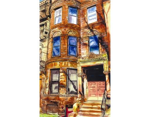 Picture 1 of 377 Commonwealth Ave Unit 7 Boston Ma  1 Bedroom Condo#