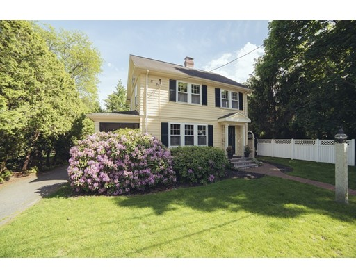 Picture 1 of 8 Rowland Ave  Lexington Ma  4 Bedroom Single Family#