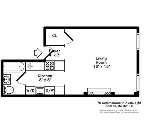 Picture 10 of 76 Commonwealth Ave Unit 8 Boston Ma 0 Bedroom Condo