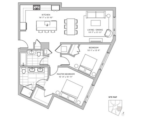 Picture 9 of 57 Quincy Shore Dr Unit 608 Quincy Ma 2 Bedroom Condo