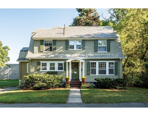 Picture 1 of 1 Barnes Rd  Newton Ma  3 Bedroom Single Family#