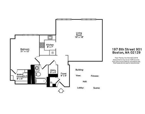 Picture 11 of 197 Eighth St Unit 901 Boston Ma 1 Bedroom Condo