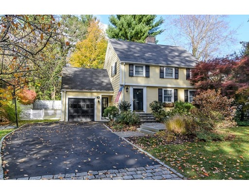 Picture 1 of 79 Leighton Rd  Wellesley Ma  4 Bedroom Single Family#