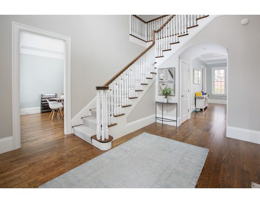 Picture 2 of 8 Beresford Rd  Brookline Ma 5 Bedroom Single Family