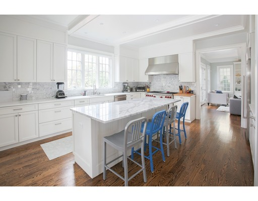 Picture 3 of 8 Beresford Rd  Brookline Ma 5 Bedroom Single Family