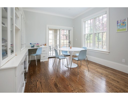 Picture 4 of 8 Beresford Rd  Brookline Ma 5 Bedroom Single Family
