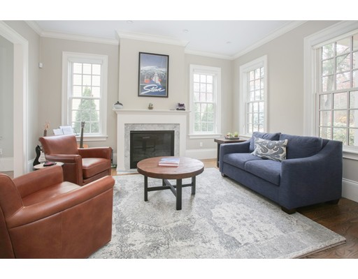Picture 7 of 8 Beresford Rd  Brookline Ma 5 Bedroom Single Family