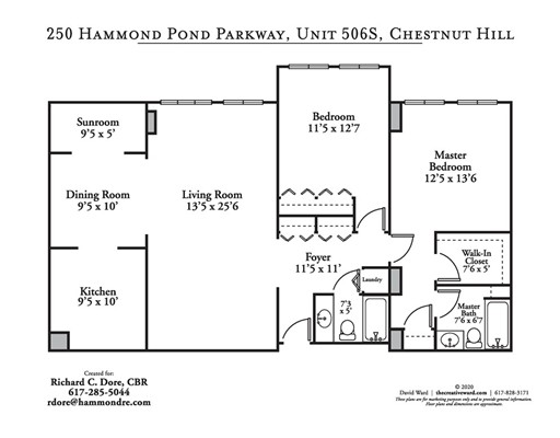Picture 6 of 250 Hammond Pond Parkway Unit 506s Newton Ma 2 Bedroom Condo