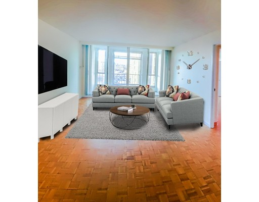 Picture 1 of 33 Pond Ave Unit 808 Brookline Ma  1 Bedroom Condo#