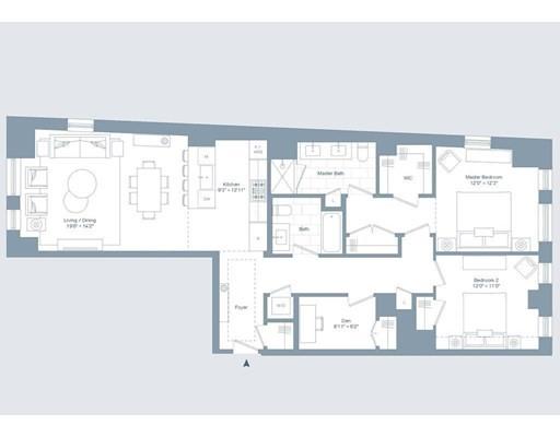 Picture 2 of 380 Harrison Ave Unit 14b Boston Ma 2 Bedroom Condo