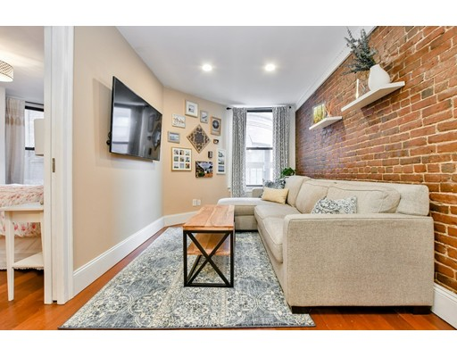 Picture 1 of 497 Beacon St Unit 3 Boston Ma  1 Bedroom Condo#