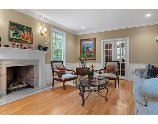 Picture 5 of 371 Wellesley St  Weston Ma 5 Bedroom Single Family