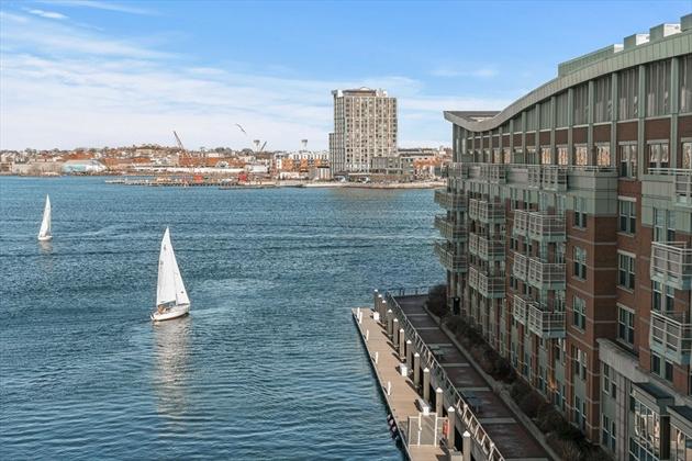 Picture 2 of 2 Battery Wharf Unit 2404 Boston Ma 2 Bedroom Condo