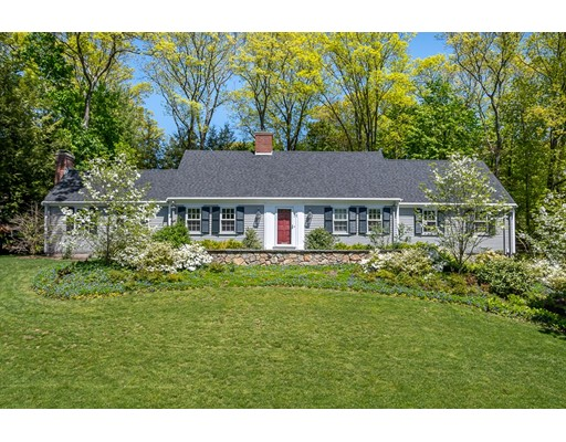 Picture 1 of 71 Suffolk Rd  Wellesley Ma  4 Bedroom Single Family#