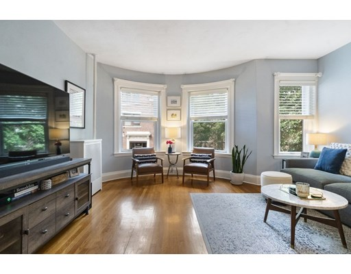 Picture 1 of 76 Parkman St Unit 2 Brookline Ma  2 Bedroom Condo#