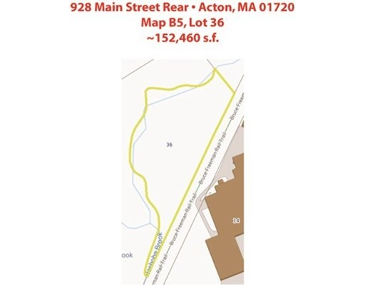 928 MAIN STREET, Acton, Massachusetts, MA 01720, ,Land,For Sale,4943207