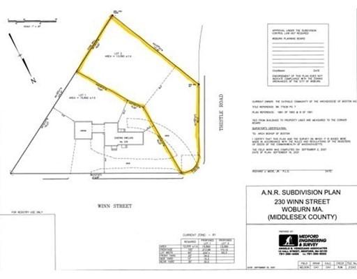 Lot 2 -230 Winn St, Woburn, Massachusetts, MA 01801, ,Land,For Sale,4942799
