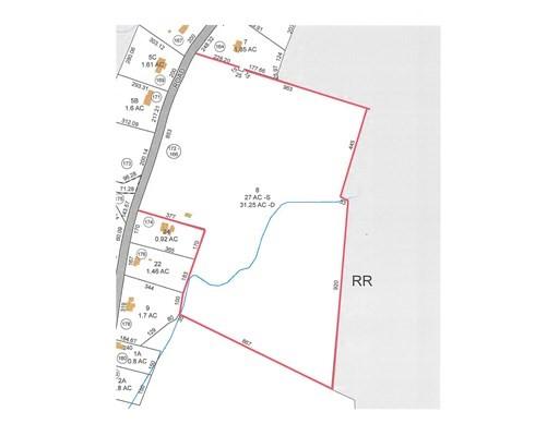 166 Rice Corner Rd, Brookfield, Massachusetts, MA 01506, ,Land,For Sale,4951552