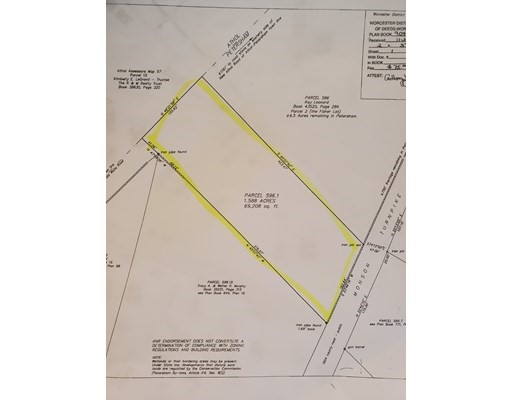 Monson Turnpike Rd, Petersham, Massachusetts, MA 01366, ,Land,For Sale,4952201