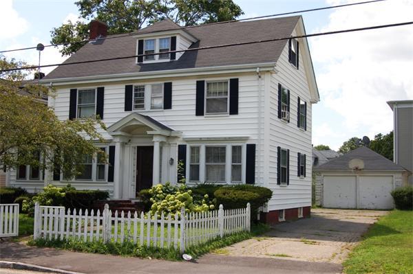 38 Cedar Street Taunton Ma Real Estate Mls 71565241