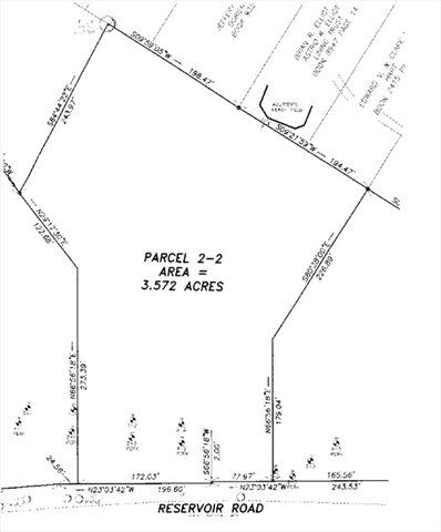 Parcel 2-2 Reservoir Road Westhampton, MA Real Estate