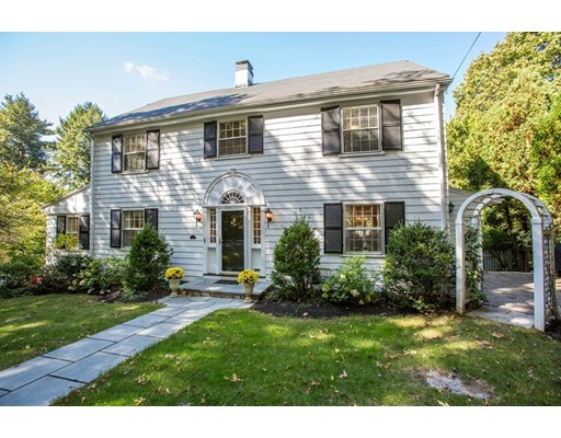 14 Benvenue Street, Wellesley, MA