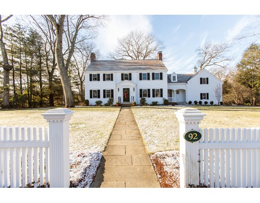 92 Old Colony Road, Wellesley, MA