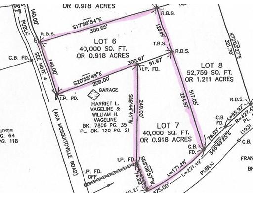 Lot 6 & 7 Pine & Franklin Street, Belchertown, MA