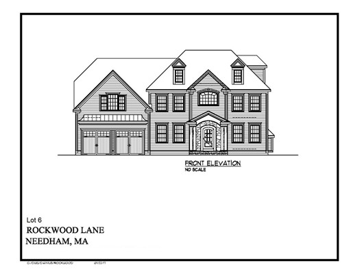 LOT 6 ROCKWOOD Lane, Needham, MA