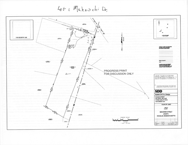 Lot 1 Makowski Drive Douglas MA 01516