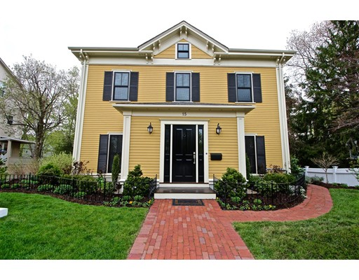 15 Washington Park, Newton, MA 02460